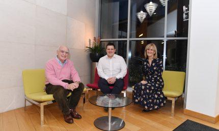Peter Deeley, Chris Newman and Julie Neville.